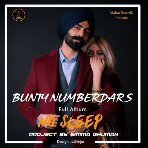 download Sone Rangi Bunty Numberdar mp3 song ringtone, No Sleep Bunty Numberdar full album download